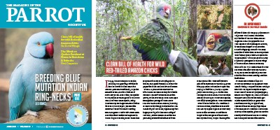 PSUK Magazine - The Parrot Society UK